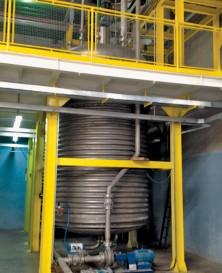 Reator para Processos Químicos aplicado a planta