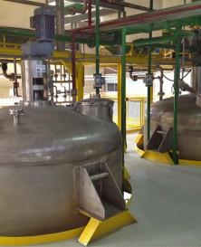 Planta para Reatores para Processos Químicos