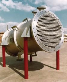 """Trocador de calor """"casco tubo"""""""